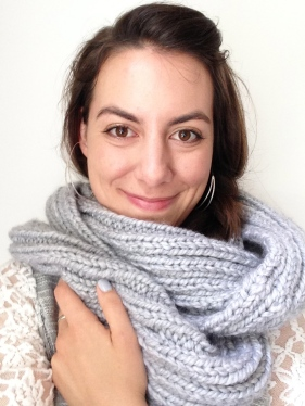 Infinity scarf in Mist