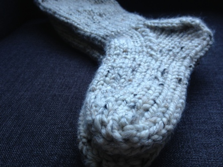 chunky cottage socks
